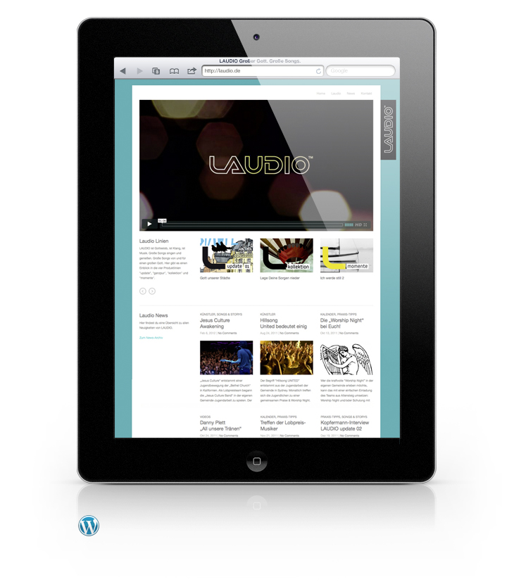 Laudio Wordpress Website