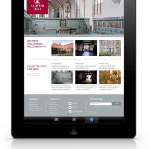KlosterLuene webdesign