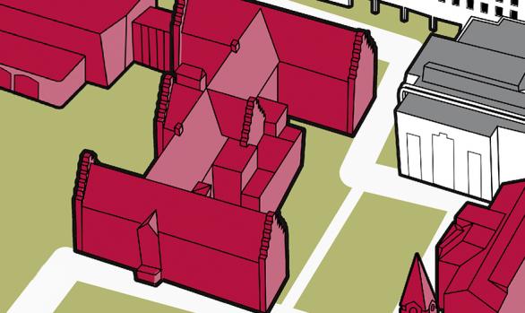 Lageplan Oberlinhaus