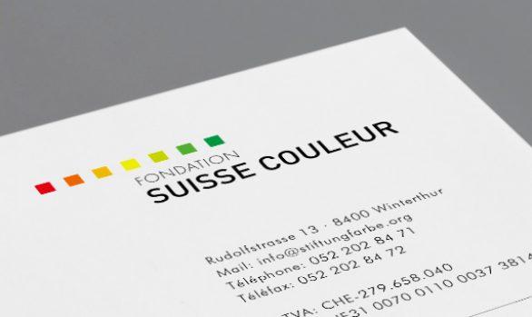 Schweizer Stiftung Farbe